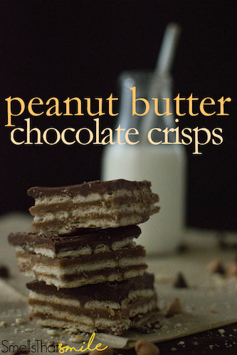 Peanut Butter Chocolate Crisps